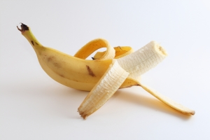 Banana Peel to repel aphids