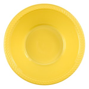 Yellow Plastic Bowls lure aphids