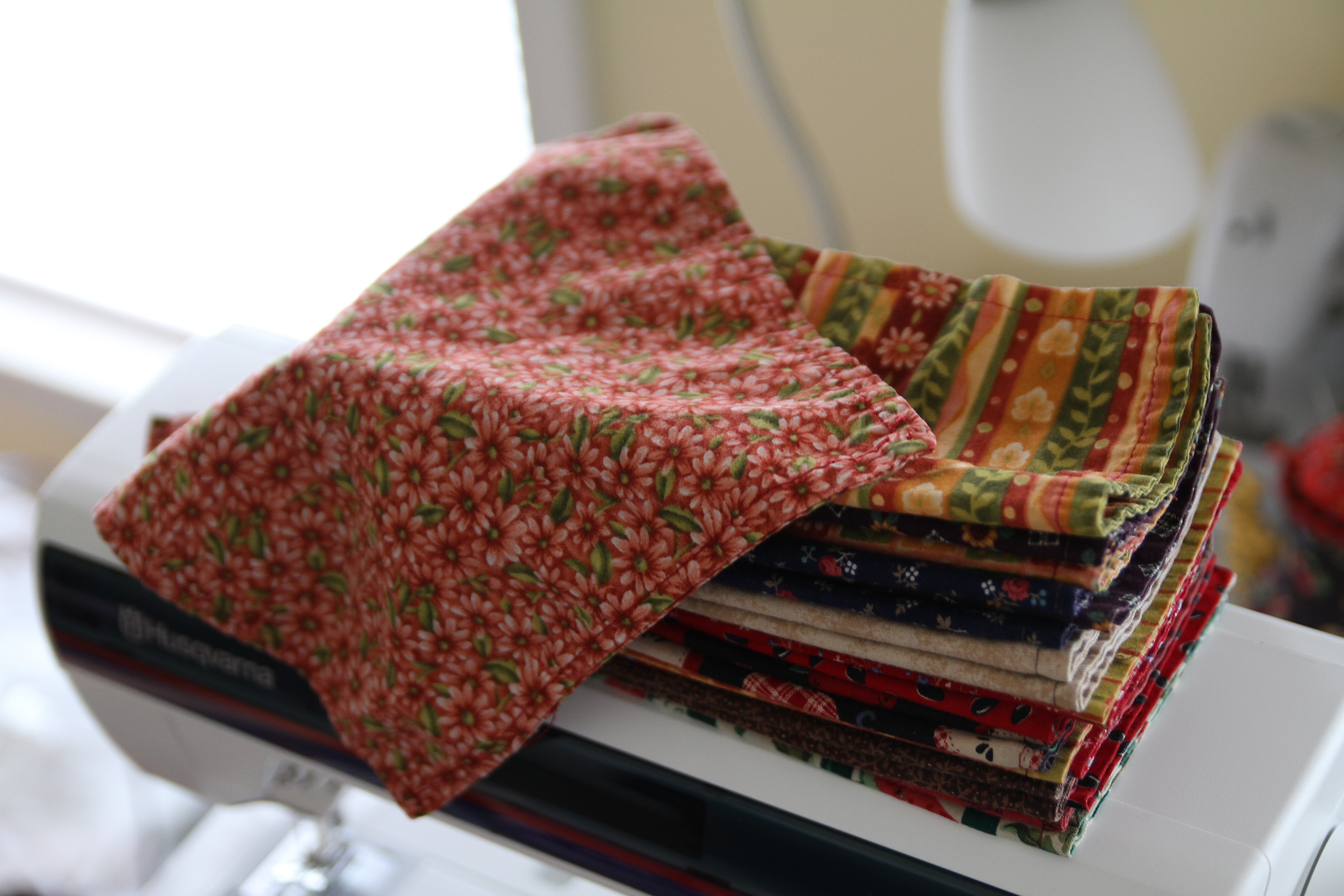 Diy Cloth Napkins Clover And Thyme