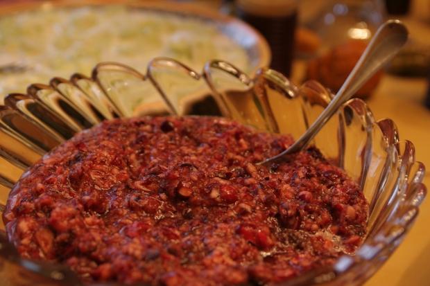 No Cook Cranberry Relish