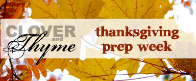 thankgiving week