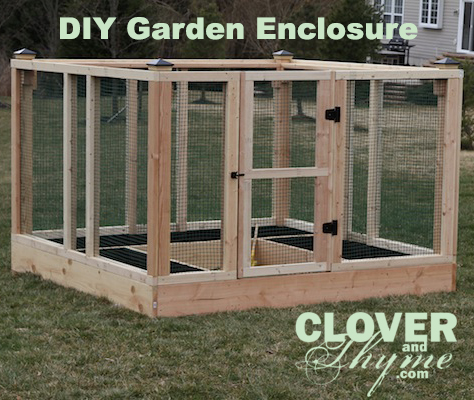 DIY Garden Enclosure