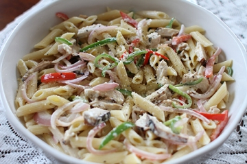 Creamy Chicken Pepper Penne