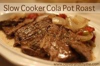 Slow Cooker Cola Pot Roast